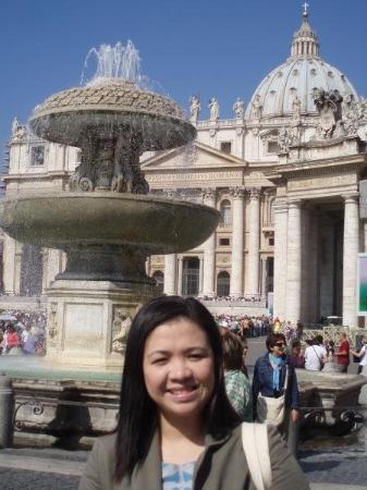 บาซิลิกาของเซนต์ปีเตอร์: basilica de san pietro - vatican city '08