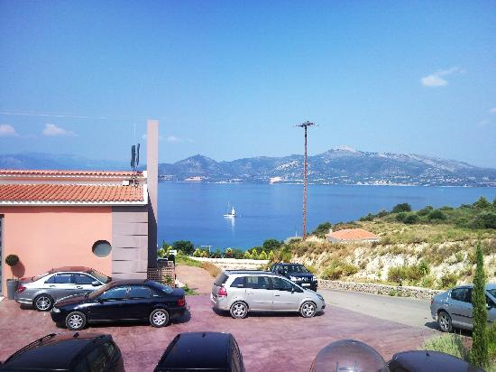 Palairos, Greece: room view
