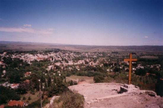 La Cumbre, que mal que no saque foto al Cristo.