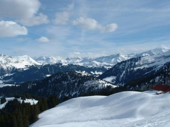 Gstaad, Schweiz: Rougemont, Switzerland