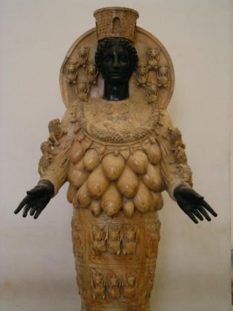 Pompeii, อิตาลี: 龐貝古城的女神像