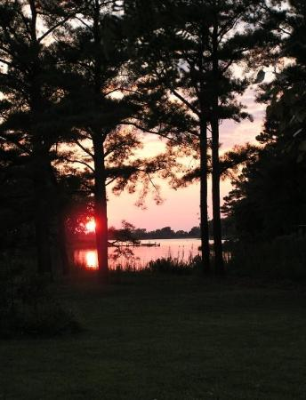 Trappe, MD: Sunset at Sunset Cove, on the Eastern Shore