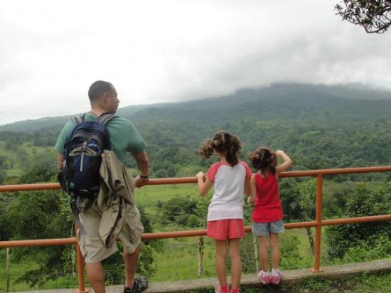 อุทยานแห่งชาติ Arenal Volcano National Park, คอสตาริกา: more views by the hanging bridges