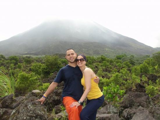 อุทยานแห่งชาติ Arenal Volcano National Park, คอสตาริกา: top of the hike!