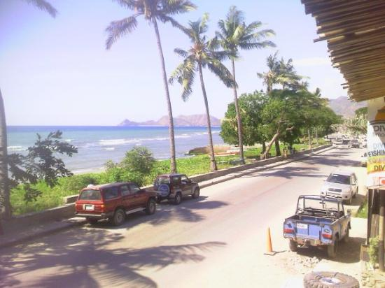Dili. Nice view while having a relaxing lunch.