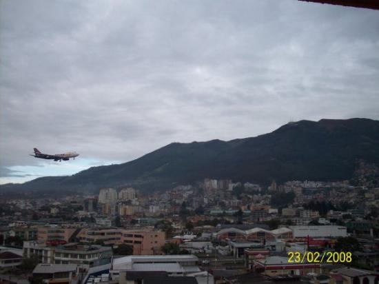 เควงคา, เอกวาดอร์: Vista desde el hotel de Quito