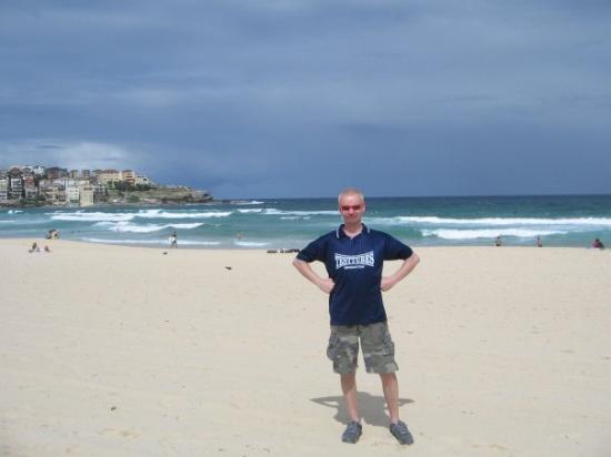 Sonny on Bondi Beach, Sydney