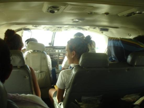Los Roques National Park, เวเนซุเอลา: Interação com os pilotos.