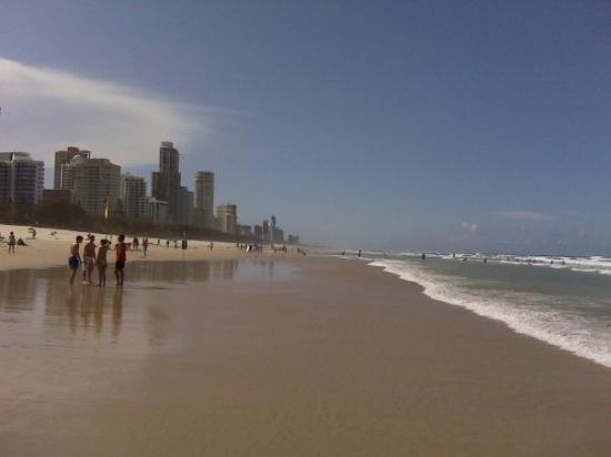 Surfer's Paradise Beach ภาพถ่าย