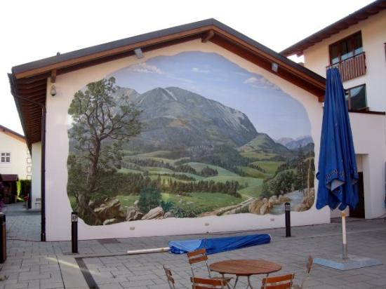 Garmisch-Partenkirchen, เยอรมนี: Scenic view at the Edelweiss Lodge and Resort