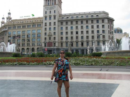 Plaza de Cataluna ภาพถ่าย