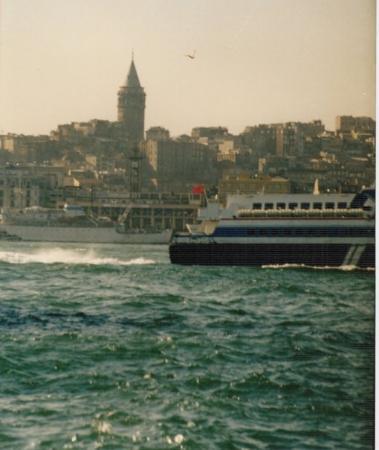 Bosphorus Cruise: Estrecho del Bósforo visto desde Estambul (Turquía)