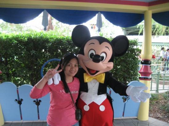 ฮ่องกงดิสนีย์แลนด์: minie and mickey