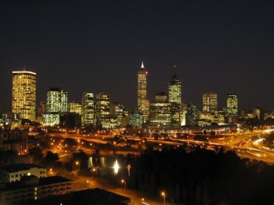 เพิร์ท, ออสเตรเลีย: Perth as seen from Kings Park