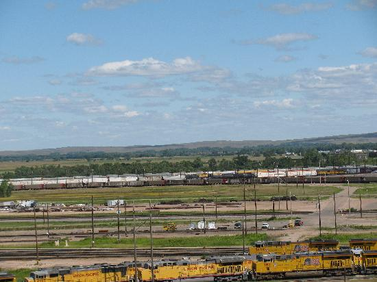 Union Pacific Railroad Bailey Yard: view