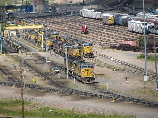 Union Pacific Railroad Bailey Yard: more trains