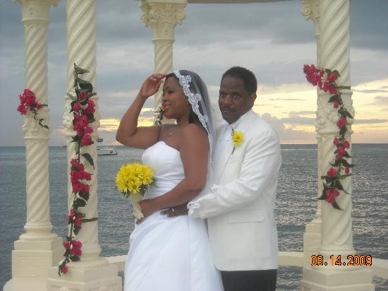 This Was Our Wedding Picture Of Sandals Montego Bay