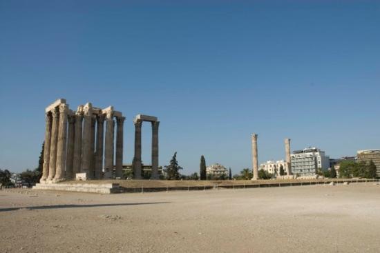 Temple of Olympian Zeus ภาพถ่าย