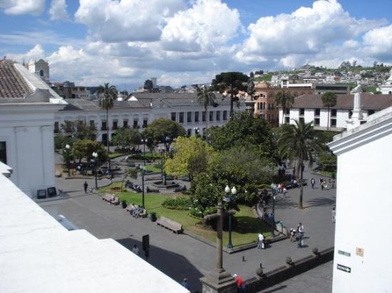 Plaza de la Independencia (Plaza Grande): Plaza Grande.