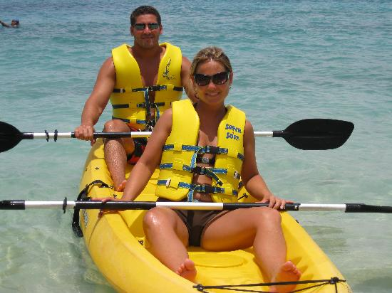 Sandals Ochi Beach Resort: Kayaking