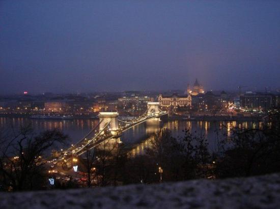 สะพานโซ่: View from the Buda Castle