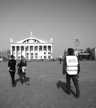 มินสค์, เบลารุส: Polis i Minsk, Vitryssland