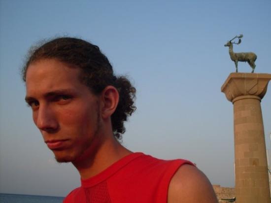 โรดส์ทาวน์, กรีซ: halvné mesto Rodos