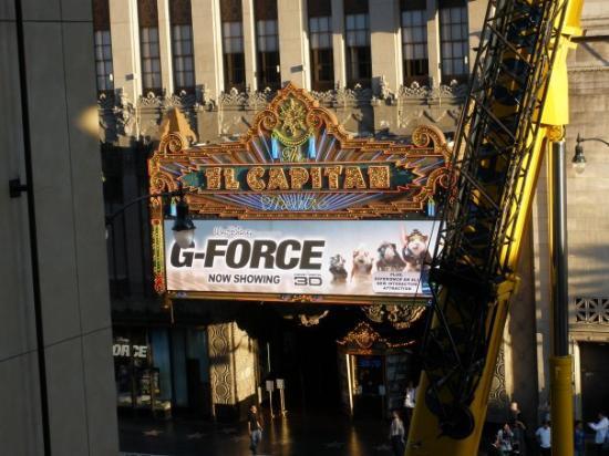 เวสต์ฮอลลีวูด, แคลิฟอร์เนีย: El Capitan Theatre