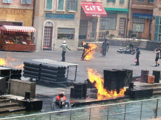 Walt Disney World Resort: Extreme stunt show, Hollywood studios