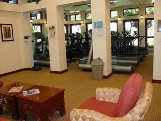 โออาฮู, ฮาวาย: Very nice Fitness Room with everything you could need to make sure you keep up with your workout