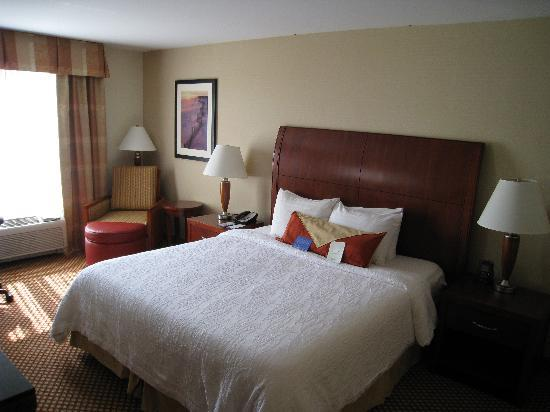 Nice Bed Picture of Hilton Garden Inn Melville Plainview