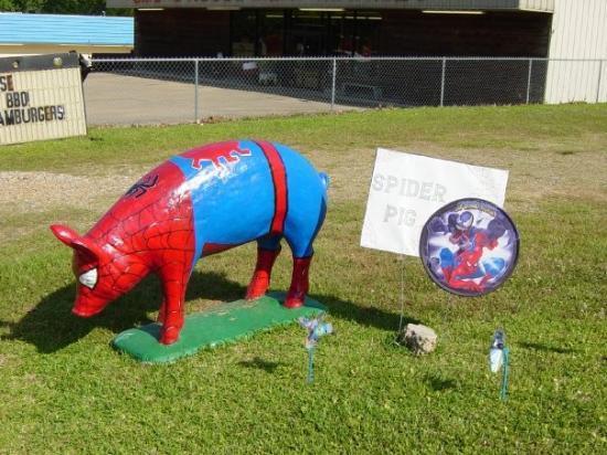 Winnfield, LA: Spider Pig