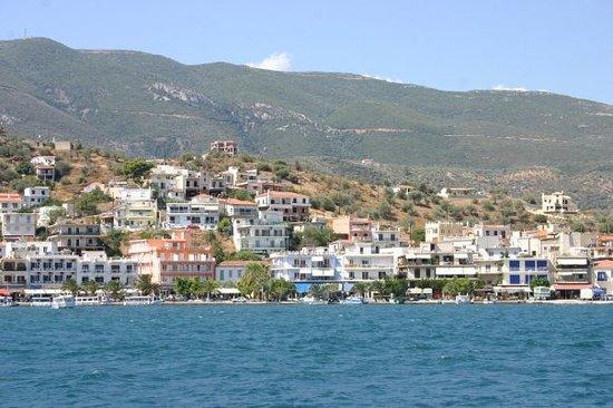 L'île de Poros (Golfe saronique)