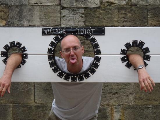 ยอร์ค, UK: M Village Idiot @ York Castle Museum