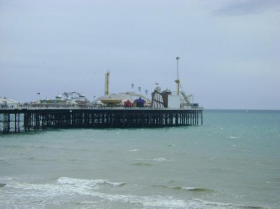 Brighton Palace Pier: pier brighton, UK
