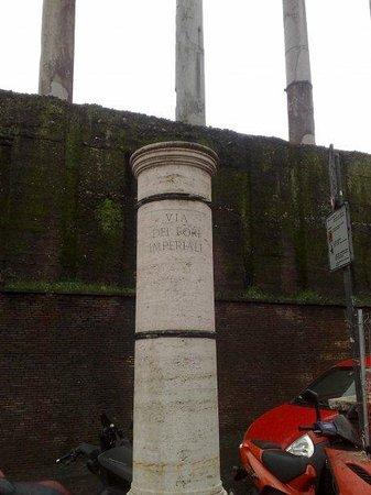 Mercati di Traiano - Museo dei Fori Imperiali: Fori Imperiali (ho fotografato solo l'insegna all'entrata, perchè in realtà..non ci sono entrata