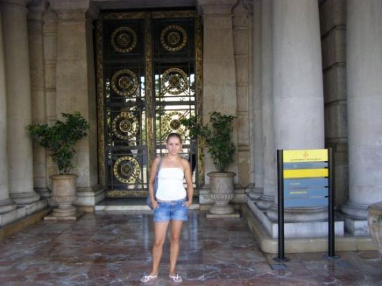 Plaza del Ayuntamiento: Puerta del Ayuntamiento ( municipalidad) de Valencia