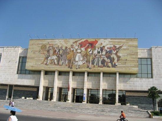 ติรานา, แอลเบเนีย: National History Museum, Tirana