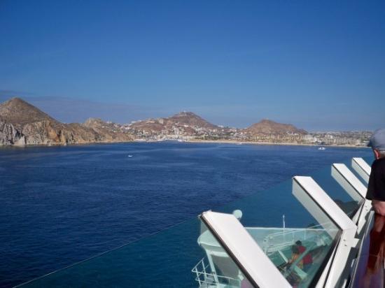 กาโบซานลูกัส, เม็กซิโก: View from the cruise ship - Cabo