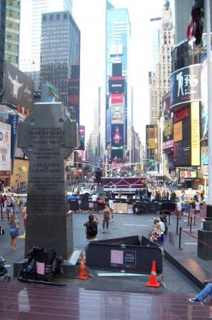 บอร์ดเวย์: Time Square des estrades