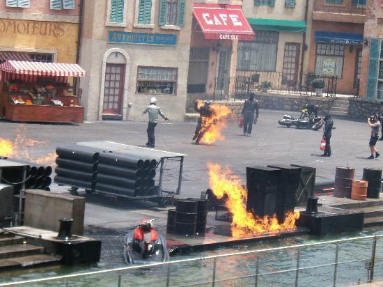 ดิสนียส์ ฮอลลิวูด สตูดิโอส์: Extreme stunt show