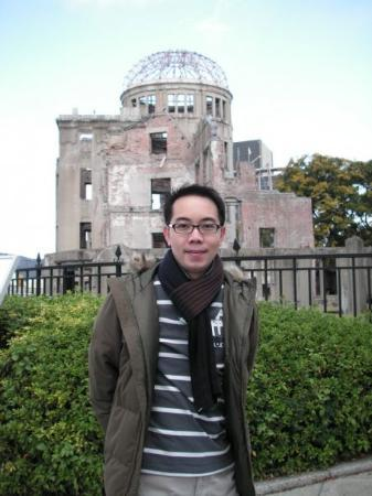 โดมปรมาณู: In front of the ..Dome.. , Hiroshima