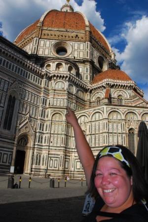 มหาวิหารศานตามาเรีย เดลฟิโอเร: You try climbing that, I did--all 460 steps!