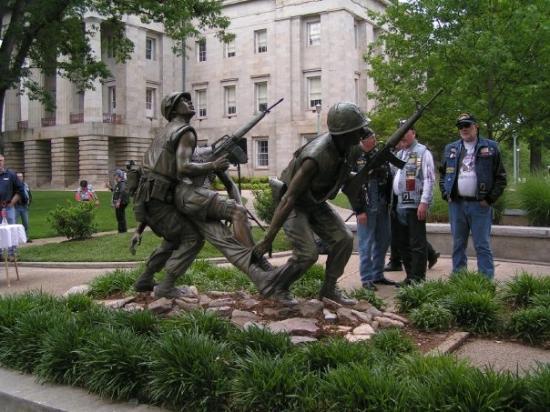 ราลี, นอร์ทแคโรไลนา: Vietnam Memorial Capitol Grounds Raleigh, NC, United States