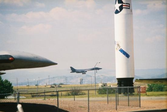 South Dakota Air and Space Museum: the B-1 Bomber