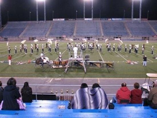 Hersheypark Stadium: Hershey, Pennsylvania - Hershey Park marching band competition