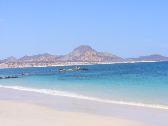 Baja Bungalows: View of Arbolitos Beach