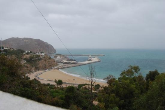 the view from Breakfast one day in Al Hoceima