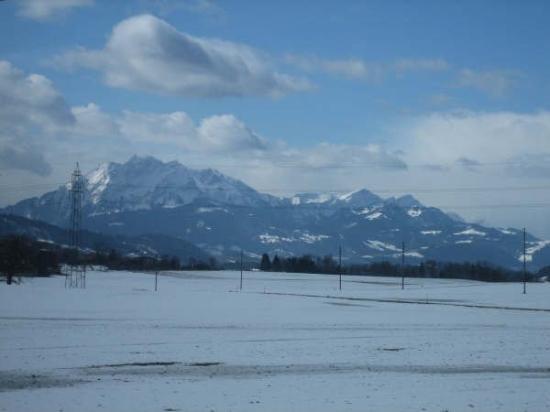 ลูเซิร์น, สวิตเซอร์แลนด์: The swiss alps!
