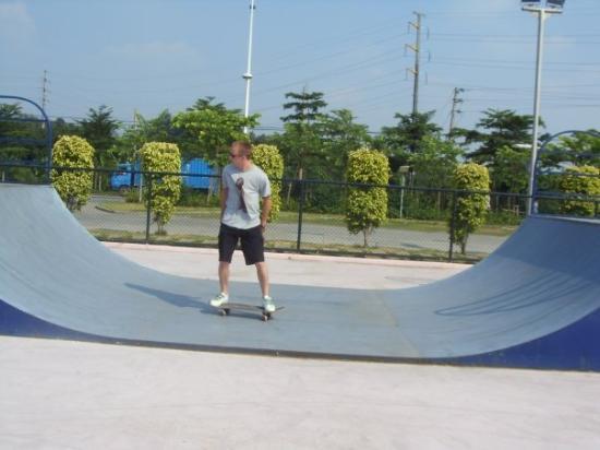 Guangzhou, Guangdong, China changzhou island skate park